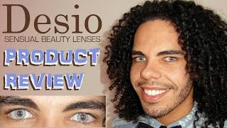 Desio Contact Lenses Review Innocent White,Icy Blue,Mint Touch,Desert Dream,Creamy Beige Dark Eyes