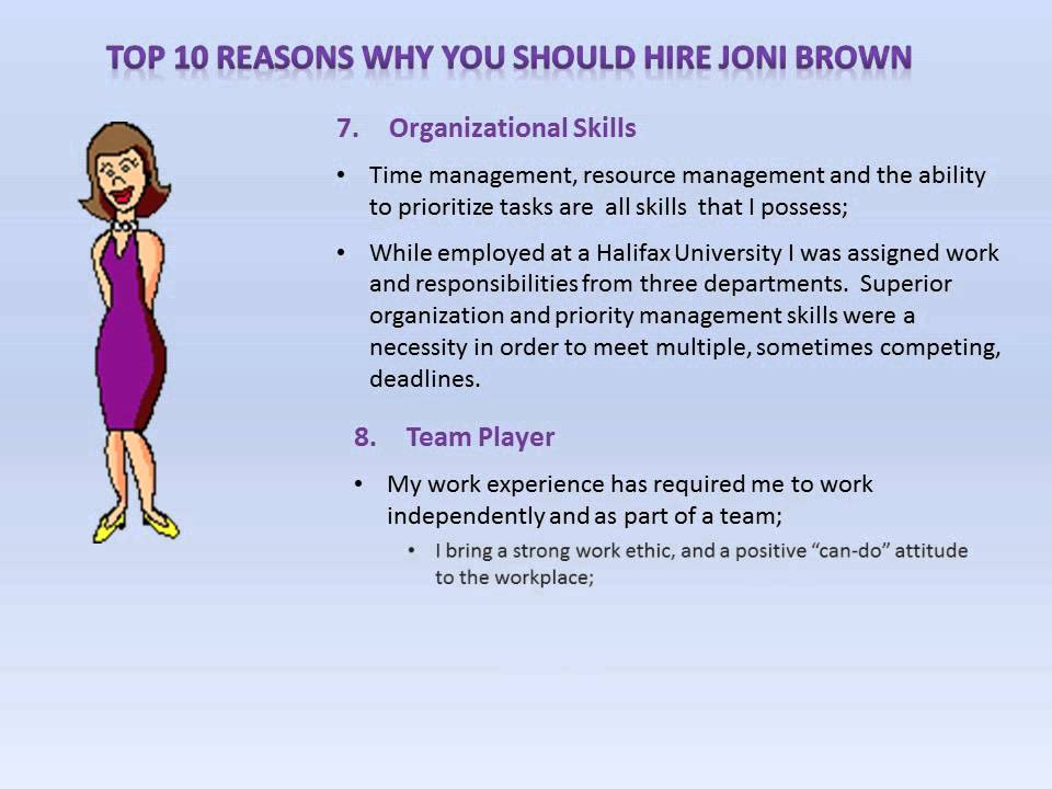 Why Hire Me - YouTube