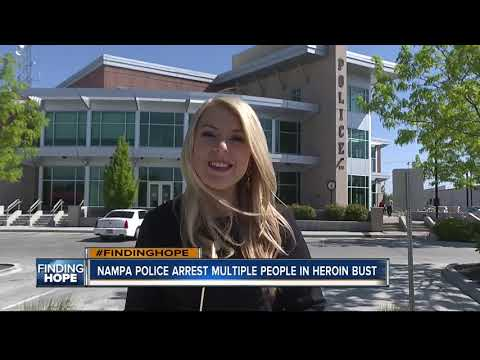 Nampa Police arrest multiple individuals for drug trafficking