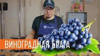 Ставим виноградную брагу