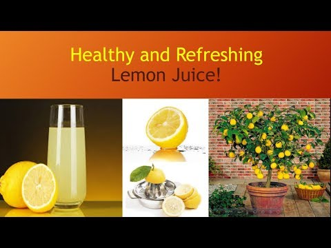 How To Make Fresh/Healthy Lemon Juice! Fat Burner Drink- Quick Recipe