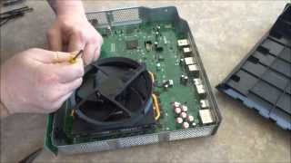 xbox one teardown disassembly for cleaning replacing thermal paste repair