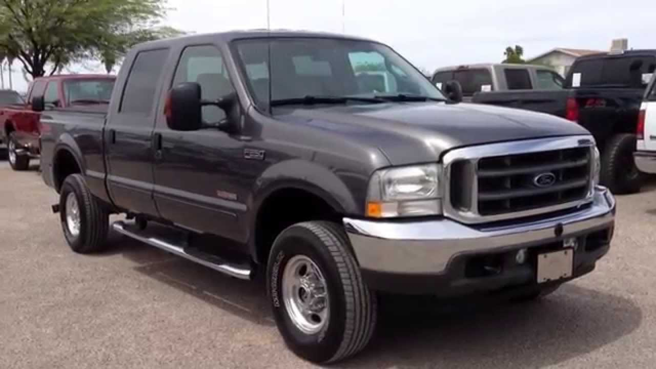 2003 ford f250 diesel 4x4 lariat crew cab youtube. Black Bedroom Furniture Sets. Home Design Ideas
