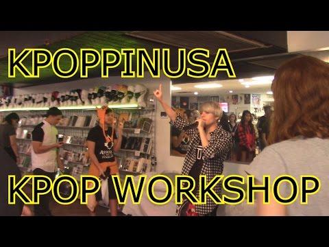 [VLOG] KPOPPINUSA STORE + KPOP DANCE WORKSHOP