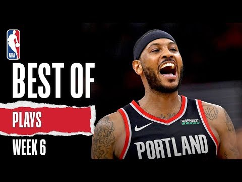 NBA's Best Plays From Week 6 | 2019-20 Season