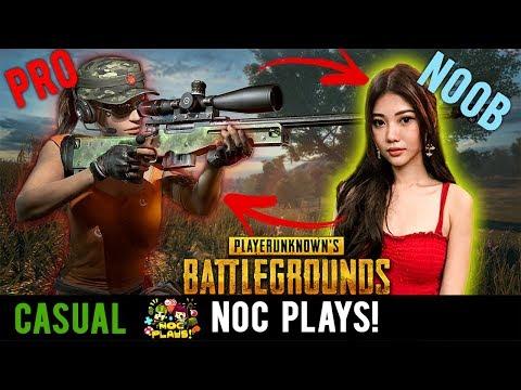 NOC Plays Teaching Aurelia(Noob) Playerunknown's Battlegrounds!
