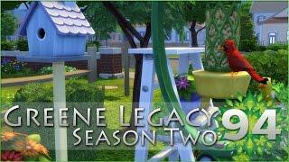 Birds in the Backyard!! Backyard Stuff Pack Released! • Sims 4 Legacy - Episode #94 [S2]