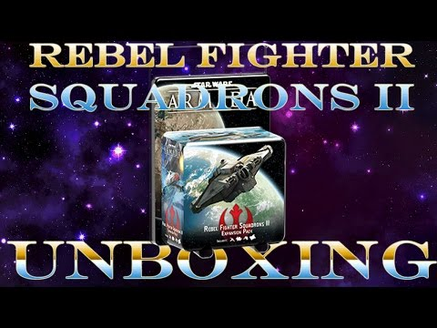 Rebel Fighter Squadrons II Unboxing