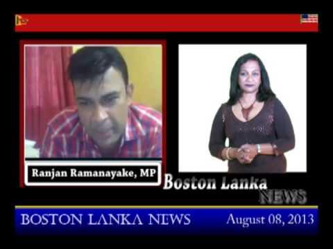 Boston Lanka with Ranjan Ramanayake - Part 2