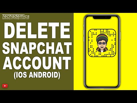 How to delete snapchat account android permanently