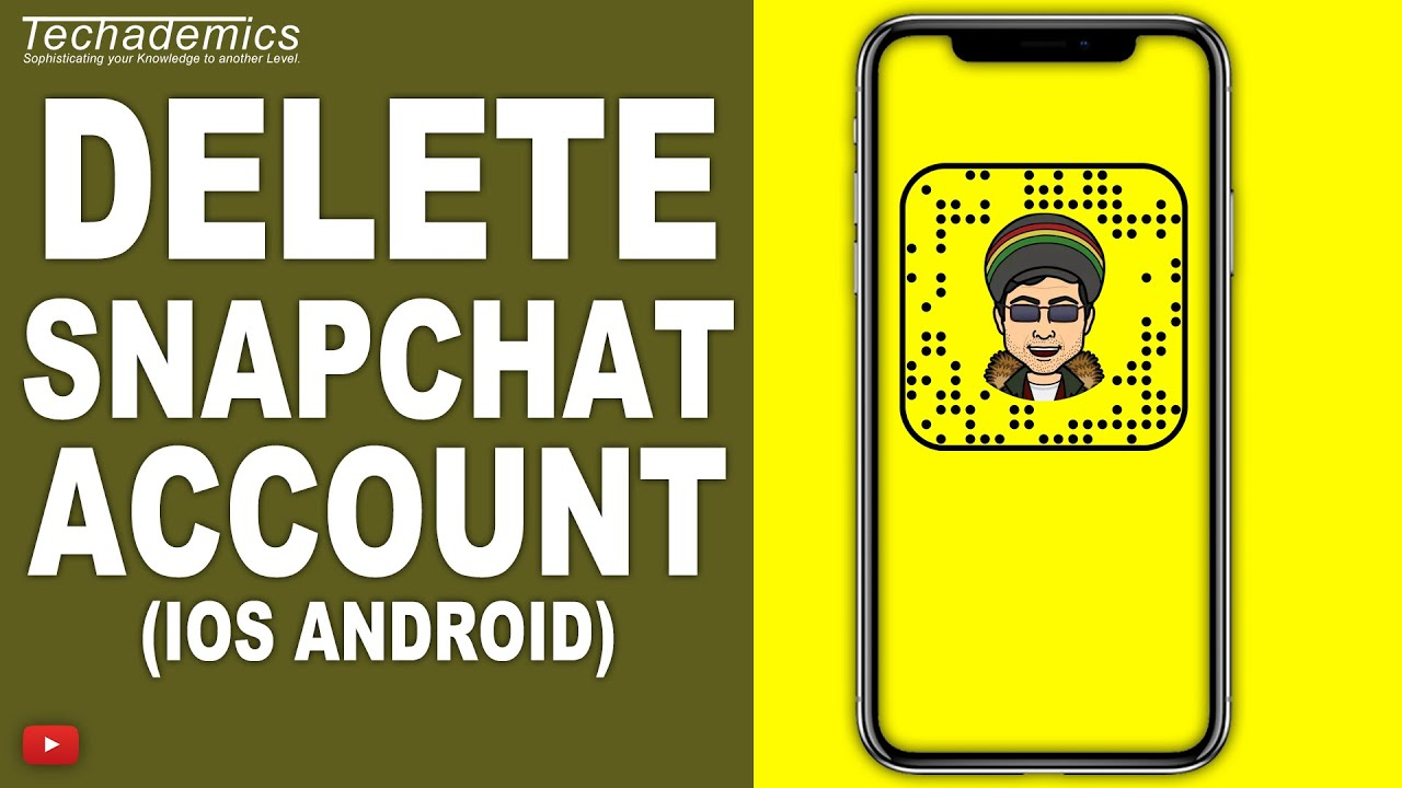 How to delete snapchat on iphone 2019