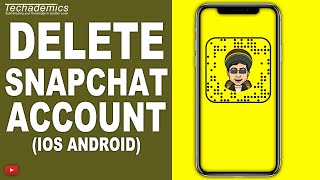How To Delete Snapchat Account Permanently 2019 | iPhone/Android