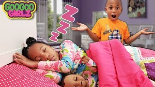 Wake Up!! ( Goo Goo Girl & Sean Are Late For School)