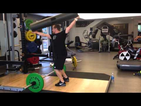 Weightlifting with ViPR - John Sinclair. Video 5