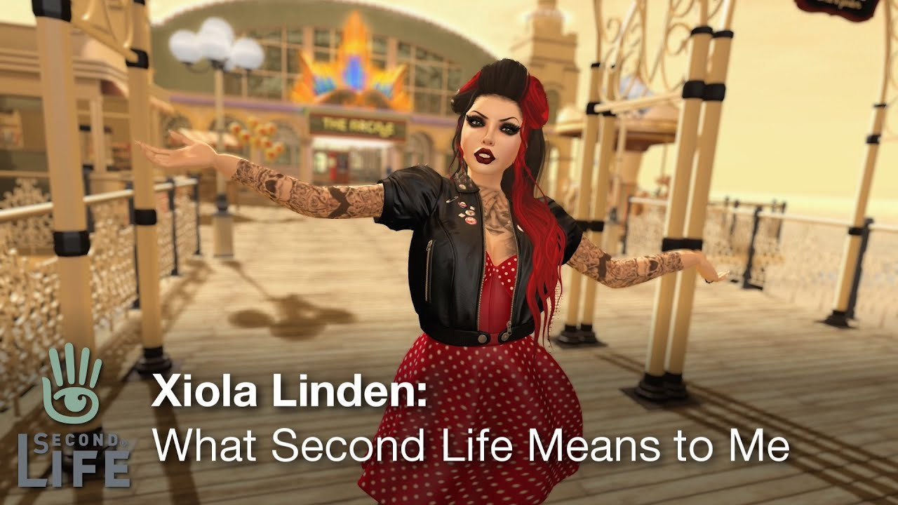 Xiola Linden, Lead Community Manager for 'Second Life' dishes on the