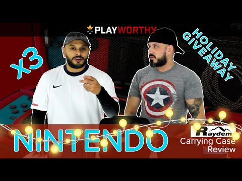 Raydem Nintendo Switch Case   Holiday Review