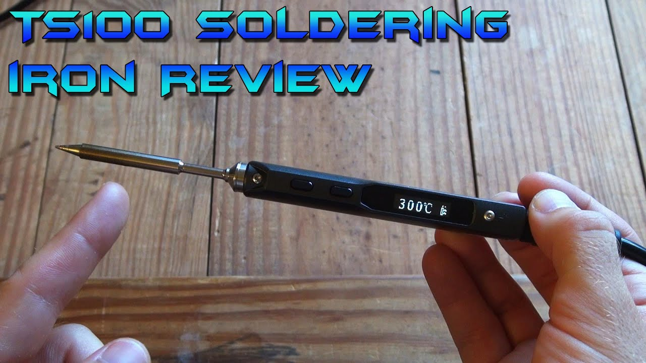 ts100 soldering iron review and unboxing youtube. Black Bedroom Furniture Sets. Home Design Ideas