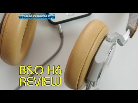 B&O Beoplay H6 Headphones Review @bangolufsen