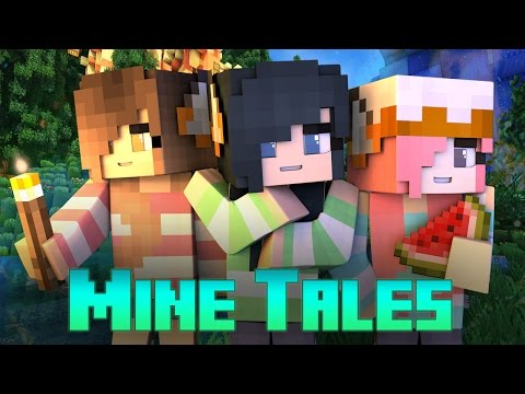 Mine Tales - The Three Little Foxes (Minecraft Fairy Tale Roleplay)