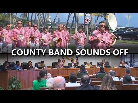 Hawaii County Band Sounds Off On Council