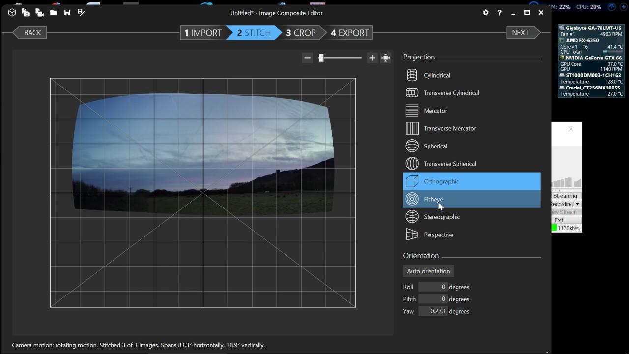 Image Composite Editor Panorama stitcher