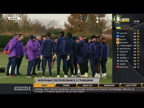 Футбол NEWS від 22.11.2019 (10:00) | Яремчук забив у Бельгії, Моурінью поспілкувався з гравцями