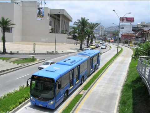 "Santiago de Cali: ""El Mío"",  A local public transport system"