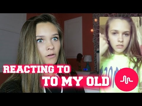 REACTING TO MY OLD MUSICAL.LYS!