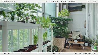 홈투어,룸투어19평아파트 작은베란다 텃밭 정원꾸미는 방…
