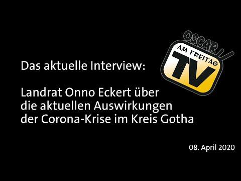 Die Richtung Stimmt, Aber Kein Grund Zur Entwarnung. Der Gothaer Landrat Onno Eckert Im Interview!