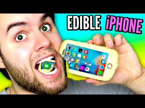 DIY Edible iPhone 7 | Make iPhones Out Of CANDY | Eat Apple Products DIY