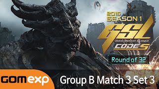MarineKing vs YoDa (TvT) - Code S Ro32 Group B Match 3 Set 3, 2015 GSL Season 1 - Starcraft 2