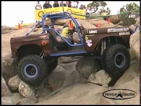 Bronco 4x4 Backwards Rock Crawl & Breakdown - YouTube