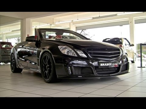 800hp Brabus E V12 Cabriolet 370km H Youtube