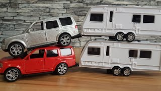 Cars for Kids Car and Caravan Unboxing Cars Video for Kids