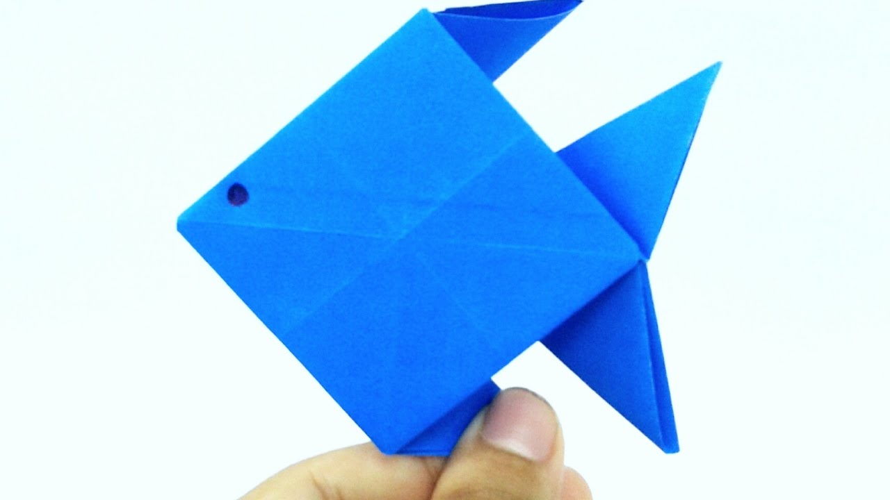 Origami paper fish instructions paper folding craft videos and origami paper fish instructions paper folding craft videos and tutorialspaper folding for kids thecheapjerseys Image collections