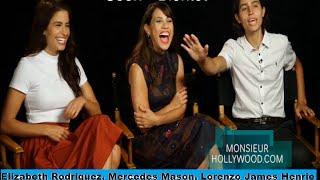 Fun interview, Fear the Walking Dead, E., Mercedes Mason, Lorenzo J Henrie,  OITNB