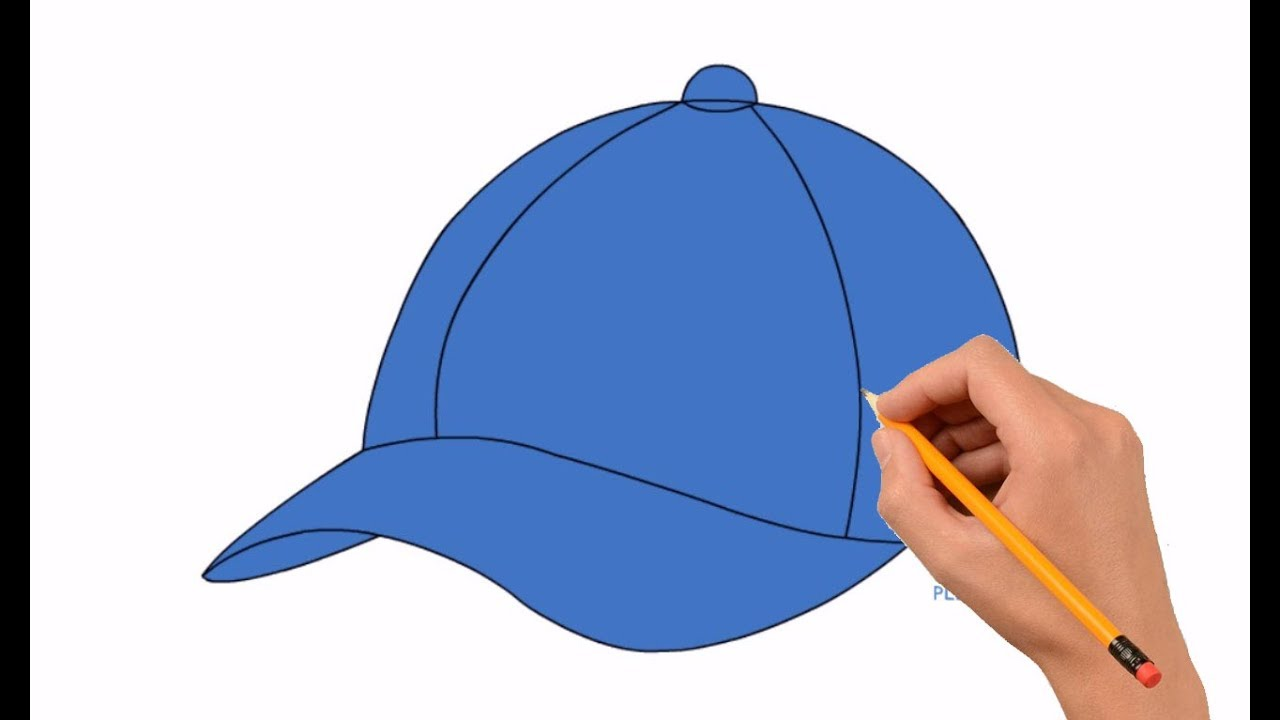 How to Draw a Baseball Cap Step by Step Easy For Kids - YouTube 4ca686158b