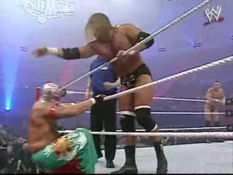 triple h john cena vs randy orton kurt angle rey mysterio