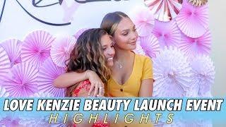 Mackenzie Ziegler Beauty Launch Event Highlights