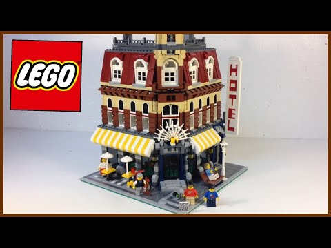 LEGO 10182 Cafe Corner Modular Building from 2007! Review
