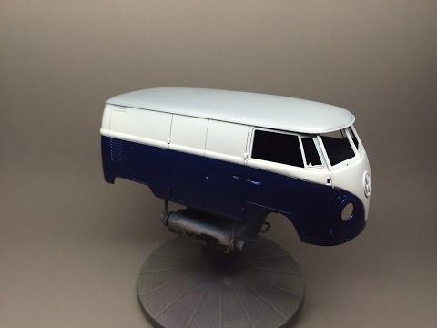Hasegawa VW T1 Type 2 Bus Part 2