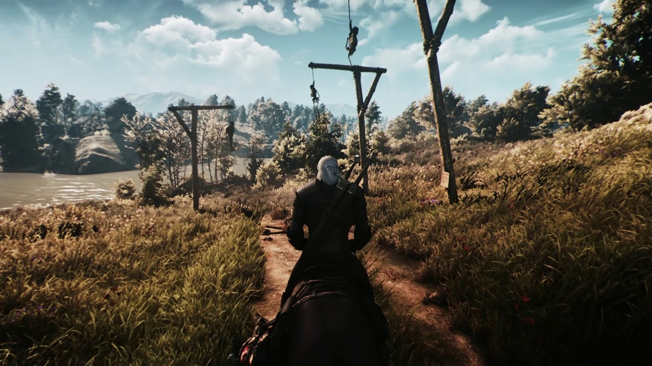 The Witcher 3 Mods+Reshade & RT Shader test by SL Gaming