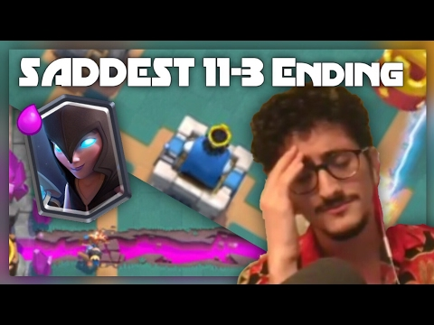CR Night Witch Challenge | SADDEST 11-3 ENDING! ft. AbePlaysGame