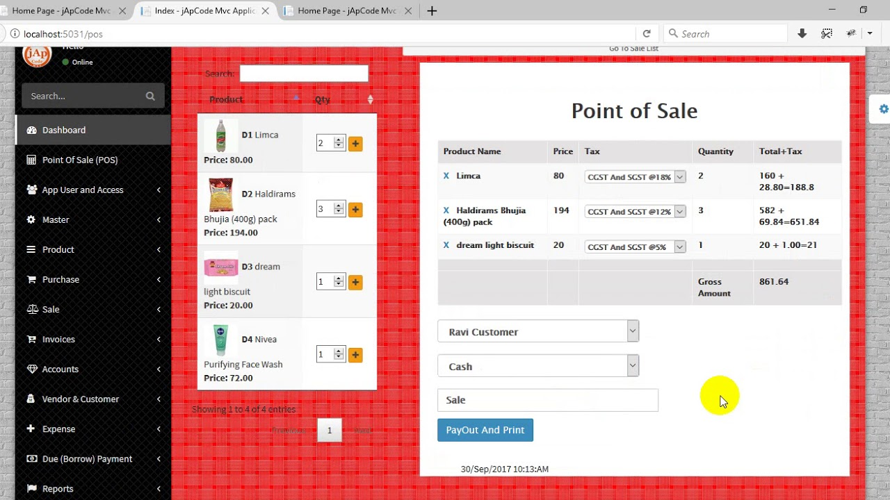 Shop Mate (Point of sale and Inventory) Sale and Purchase ...