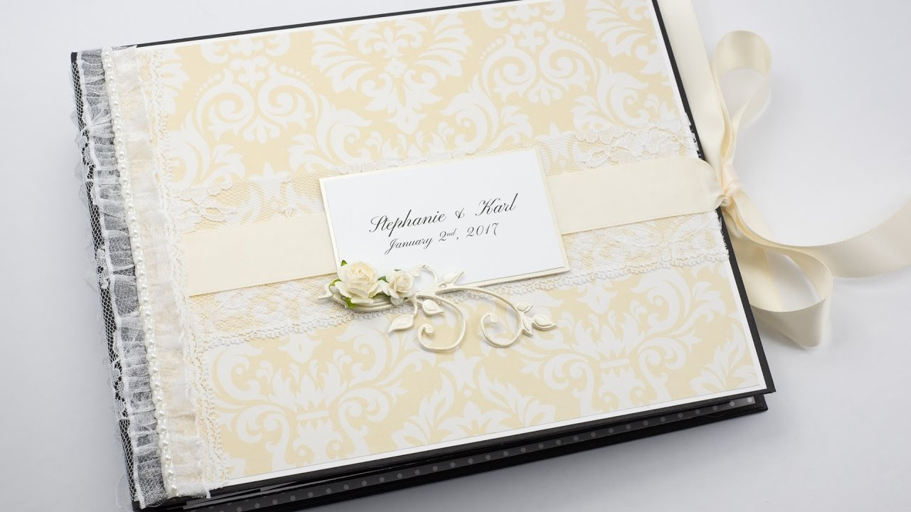 How to scrapbook a wedding invitation - How To Scrapbook A Wedding Invitation Scrapbook Wedding Album Hd