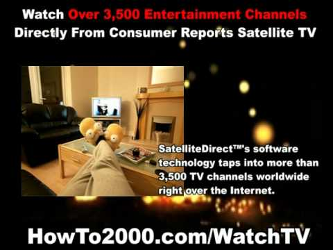 Consumer Reports Satellite TV | Watch Over 3500 Entertainment Channels!