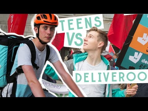The Teens Taking On Deliveroo