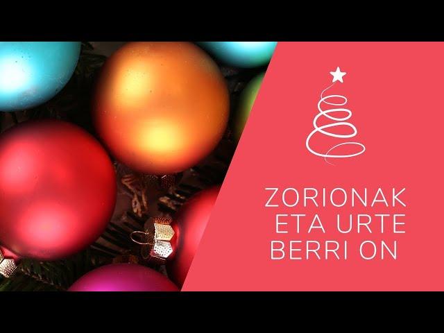 Olimpia, Kirikiño, Barrika y Otxartaga os desean Felices Fiestas