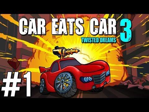 ODDAWAJ MOJĄ AUTO-KOBIETE! - Car eats car 3 #1